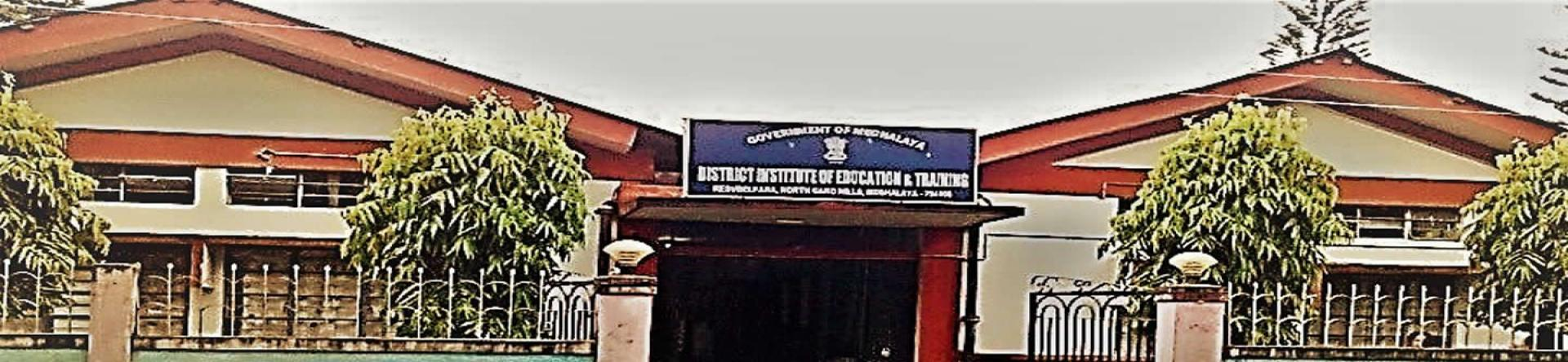 District Institute Of Education And Training  (DIET) Resubelpara