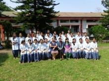Second Year Student Teachers with their Lecurers